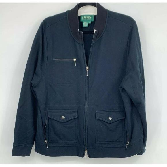Lauren Ralph Lauren Jackets & Blazers - Lauren Ralph Lauren womens plus 2X jacket moto